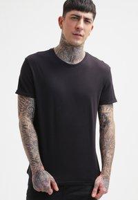 YOURTURN - T-shirt basic - black - 0