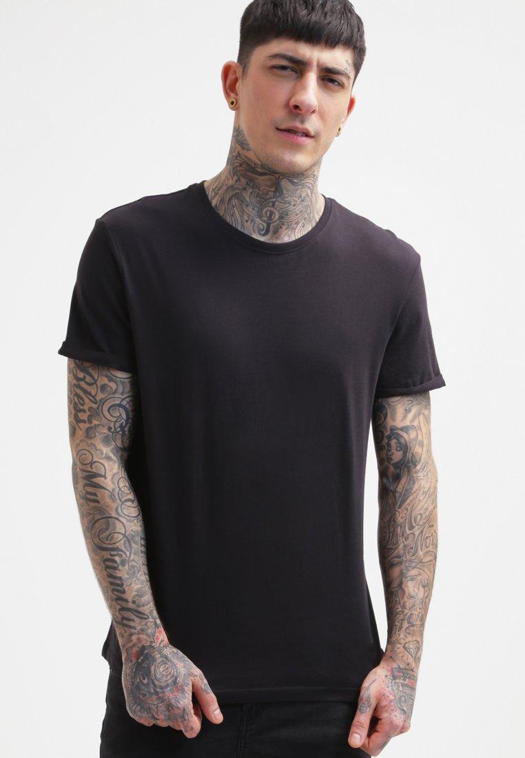 YOURTURN - T-shirt basic - black
