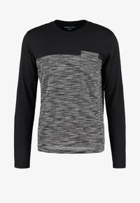 YOURTURN - Top s dlouhým rukávem - mottled grey/black - 4