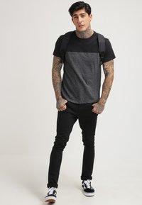 YOURTURN - T-Shirt print - black - 1