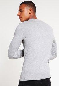 YOURTURN - Långärmad tröja - mottled grey - 2