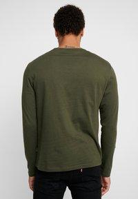 YOURTURN - Camiseta de manga larga - mottled olive - 2