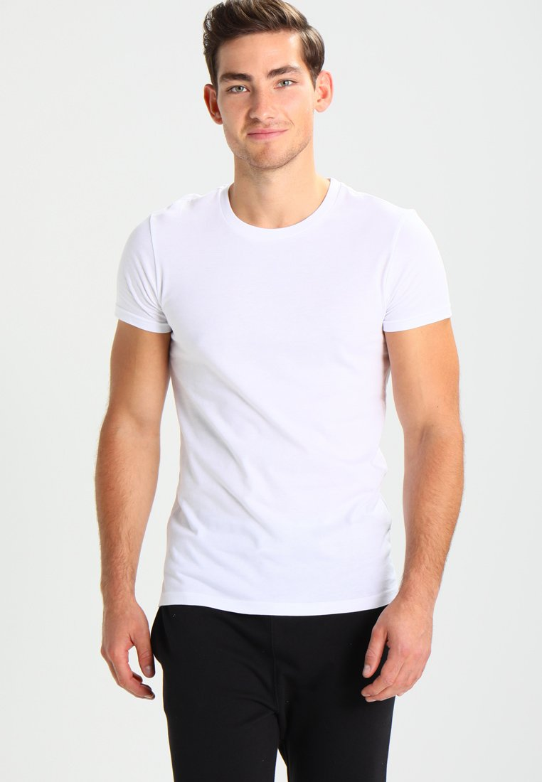 YOURTURN - T-shirts basic - white