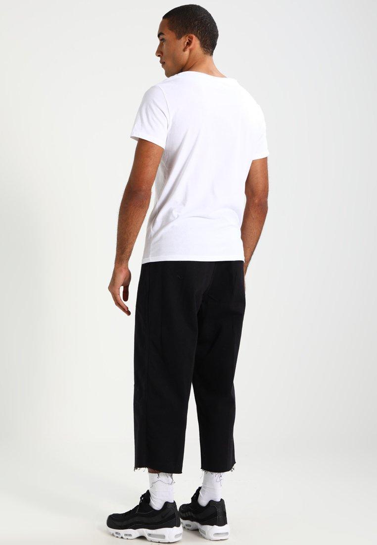 Yourturn Basique 2 packT shirt black White kZOiuXTPw