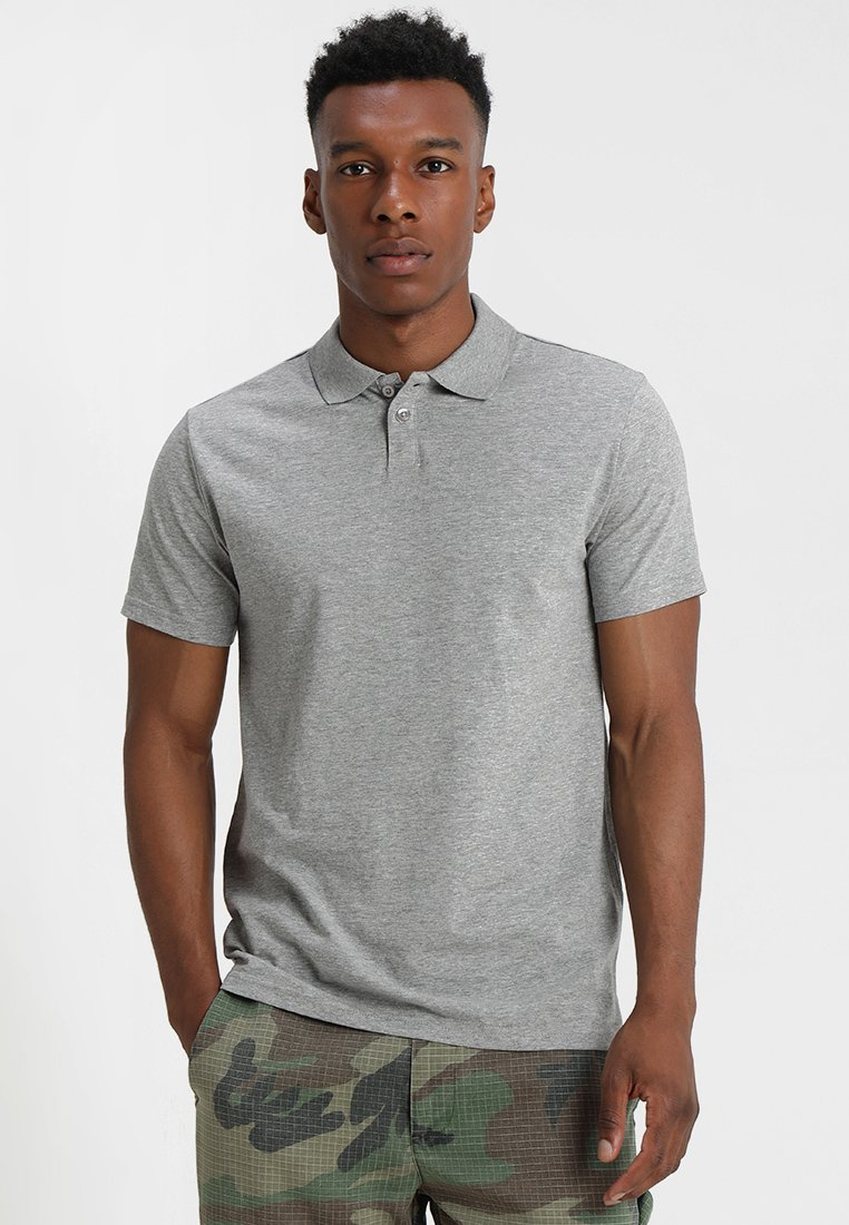 YOURTURN - Koszulka polo - mottled grey