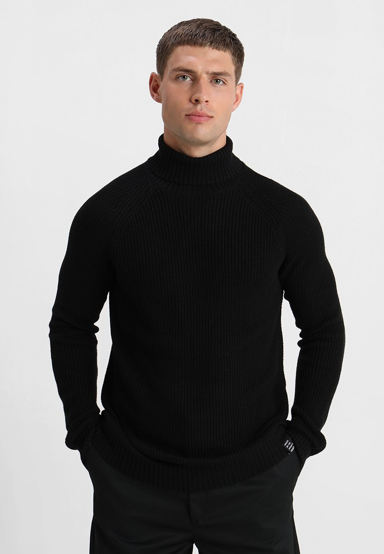 YOURTURN - Strickpullover - black