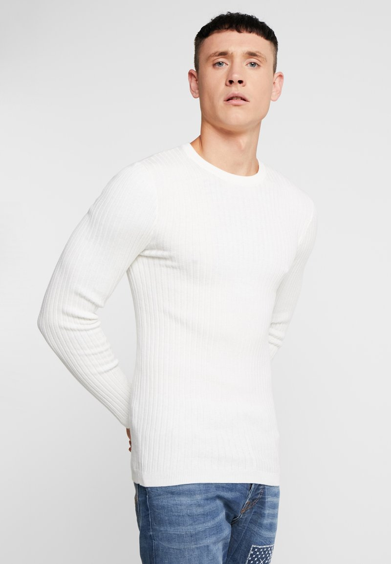 YOURTURN - Strikpullover /Striktrøjer - off white