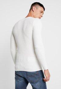 YOURTURN - Strickpullover - off white - 2