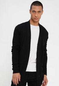 YOURTURN - Strickjacke - black - 0