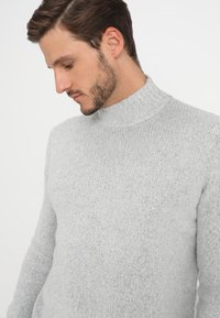 YOURTURN - Trui - mottled light grey - 4