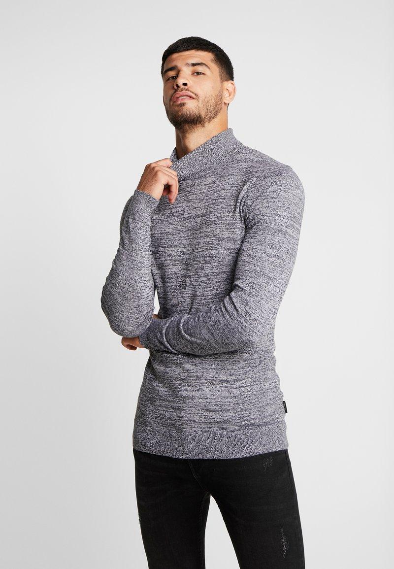 YOURTURN - Strickpullover - mottled dark grey