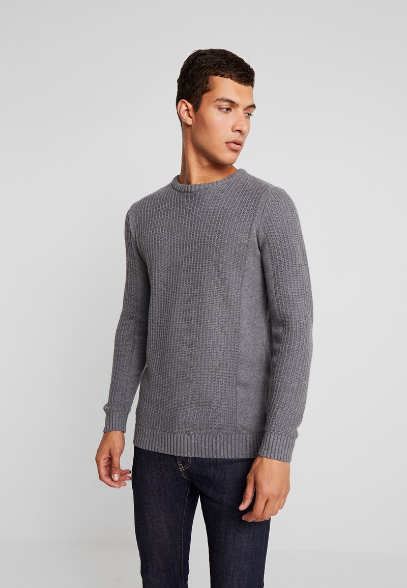 YOURTURN - Trui - mottled grey