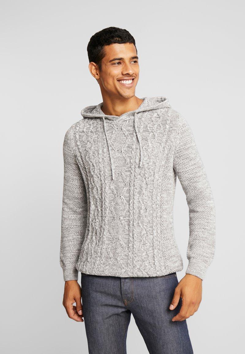 YOURTURN - Stickad tröja - mottled light grey