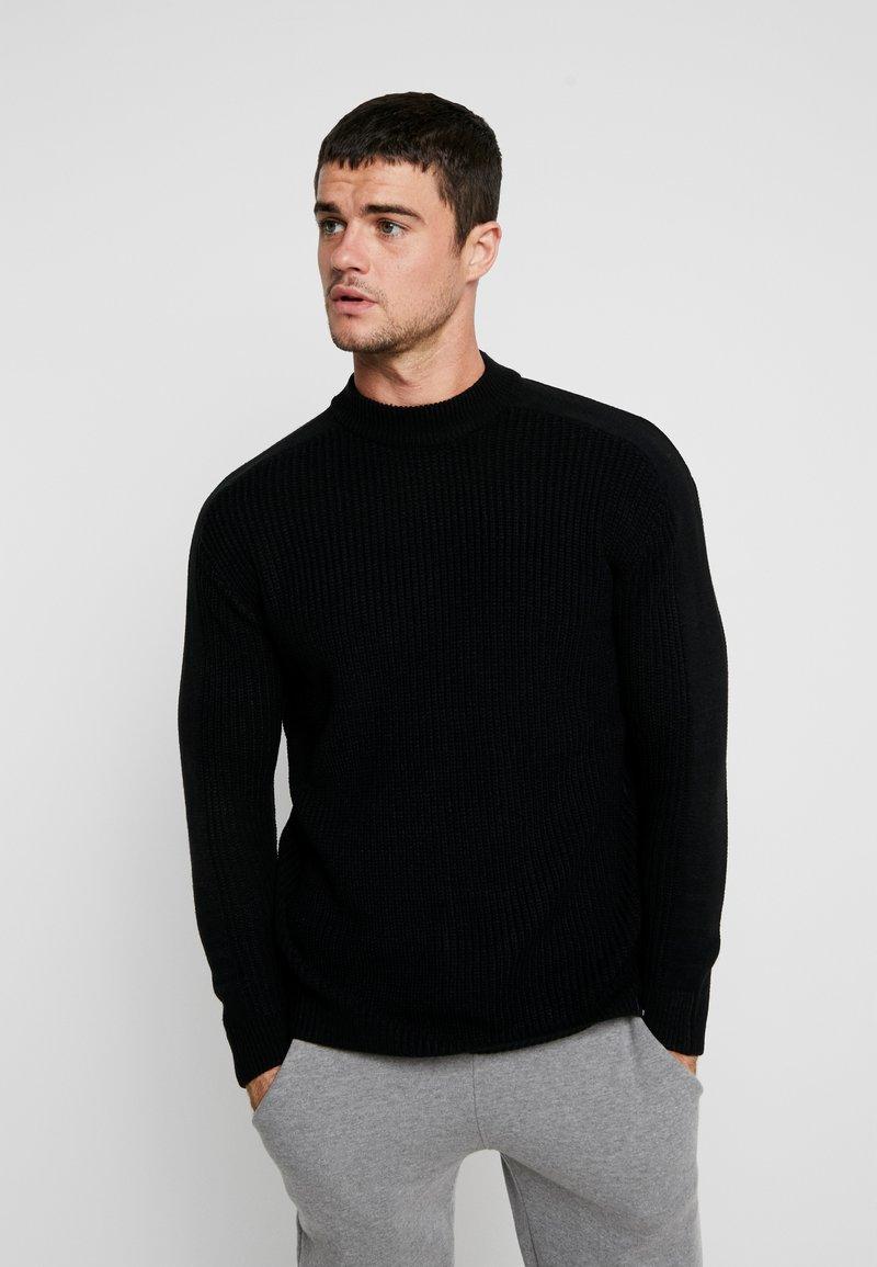 YOURTURN - Sweter - black