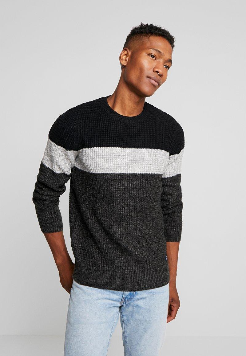 YOURTURN - Stickad tröja - mottled dark grey