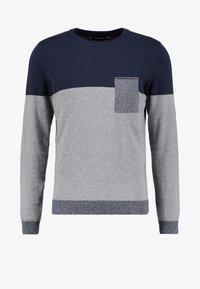 YOURTURN - Trui - mottled grey/dark blue - 4