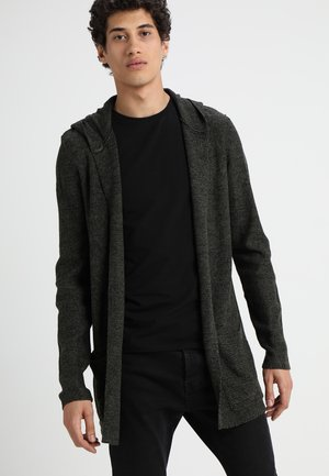 Cardigan - oliv/black