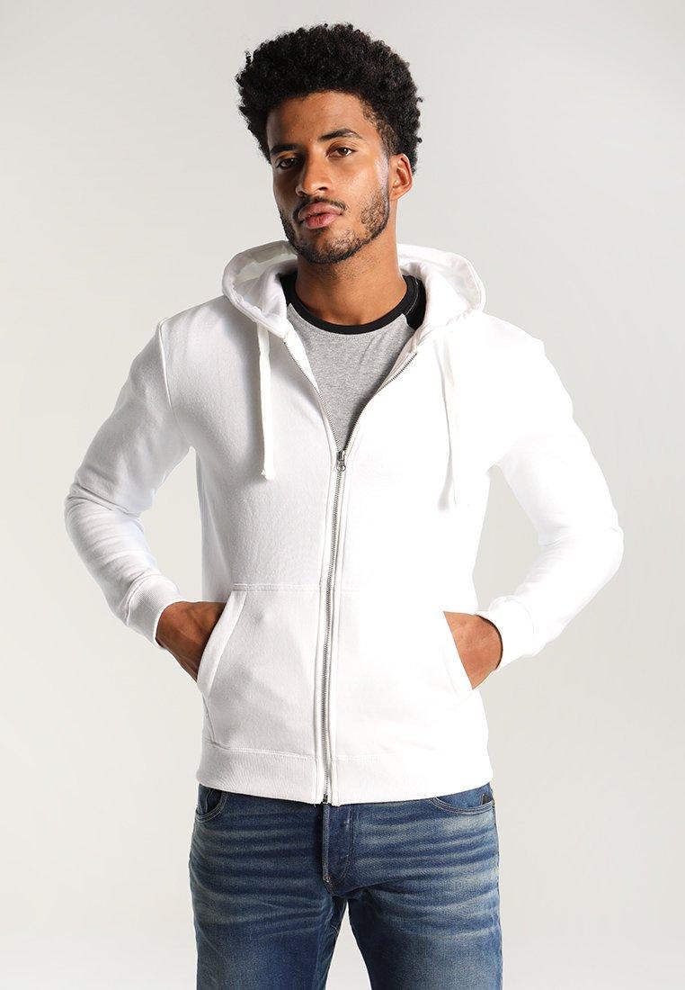 YOURTURN - veste en sweat zippée - white