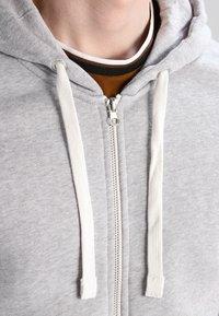 YOURTURN - veste en sweat zippée - light grey melange - 3