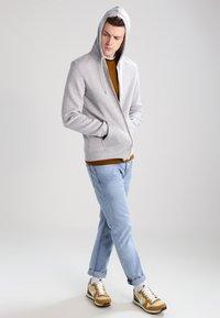 YOURTURN - veste en sweat zippée - light grey melange - 1