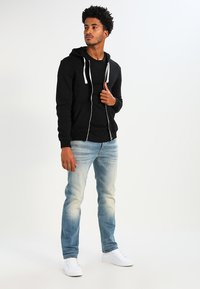 YOURTURN - veste en sweat zippée - black