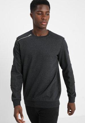 Sweatshirt - mottled anthracite