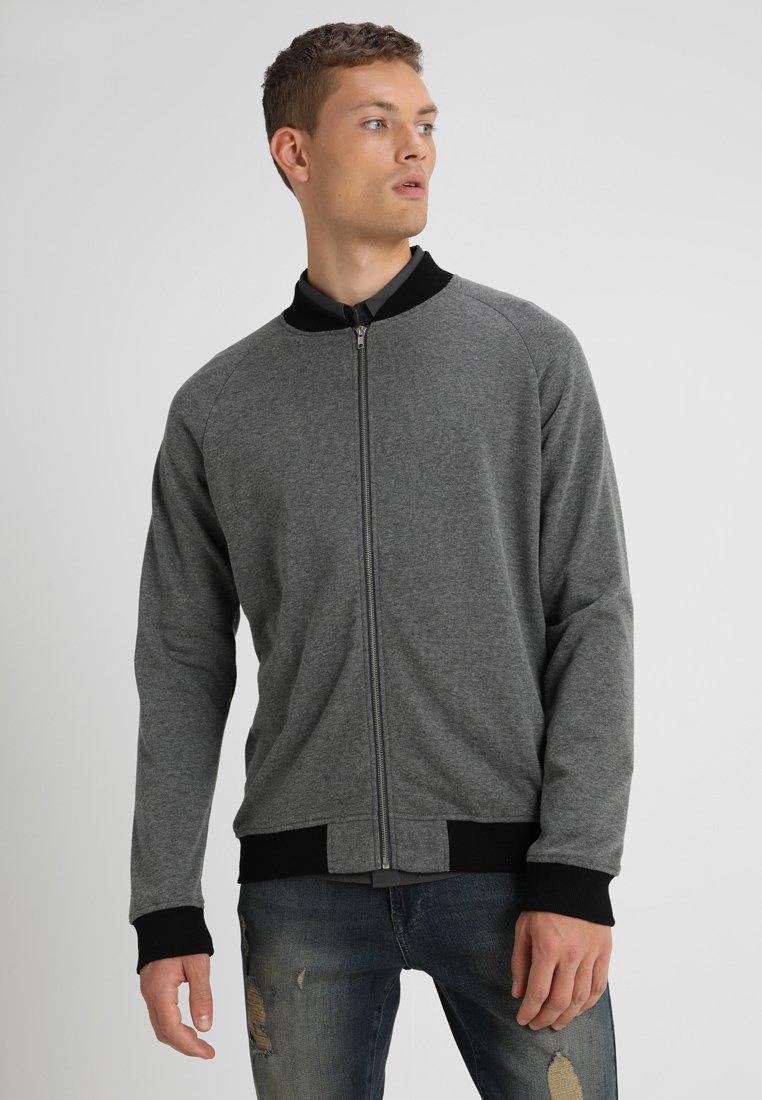 YOURTURN - Zip-up hoodie - dunkelgrau