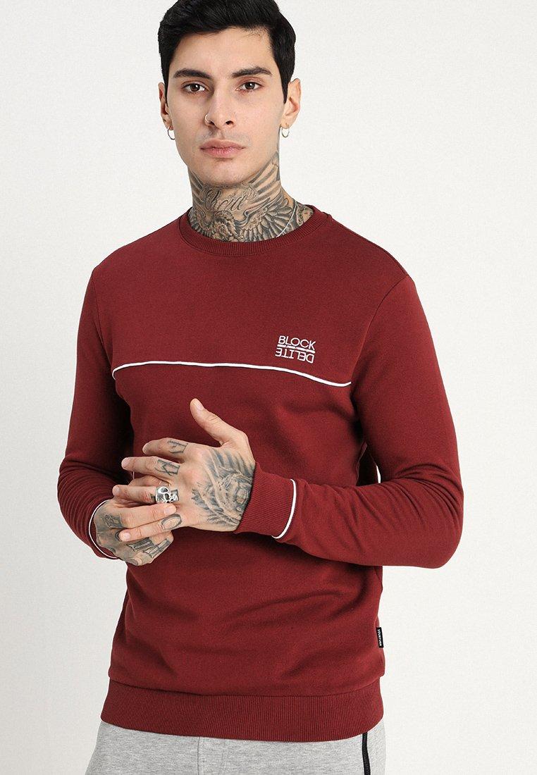 YOURTURN - Sweatshirt - bordeaux