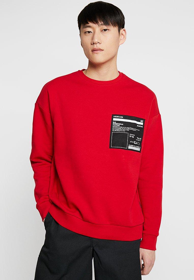 YOURTURN - Sweatshirt - red