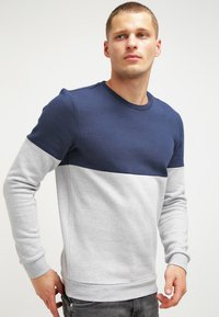 YOURTURN - Sudadera - mottled light grey/dark blue - 0