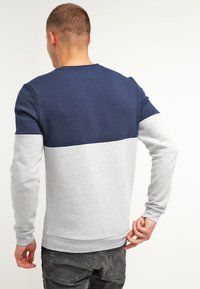 YOURTURN - Sudadera - mottled light grey/dark blue - 2