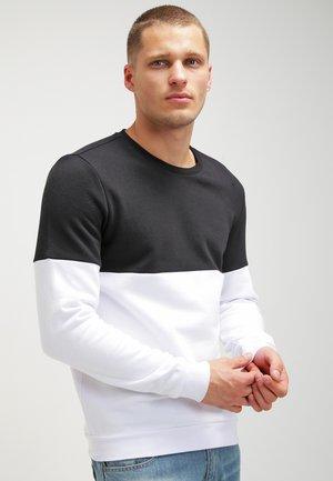 Sweater - black /white