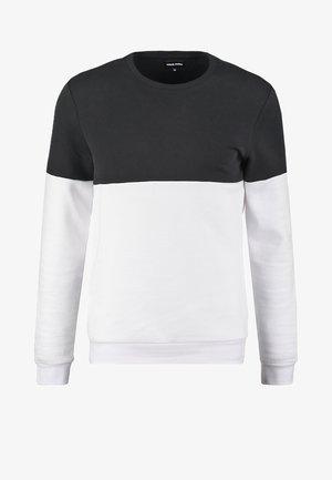 Mikina - black /white