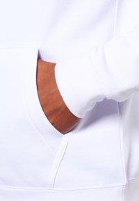 Pier One - Mikina na zip - black/white - 4