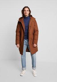YOURTURN - Winter coat - brown - 1