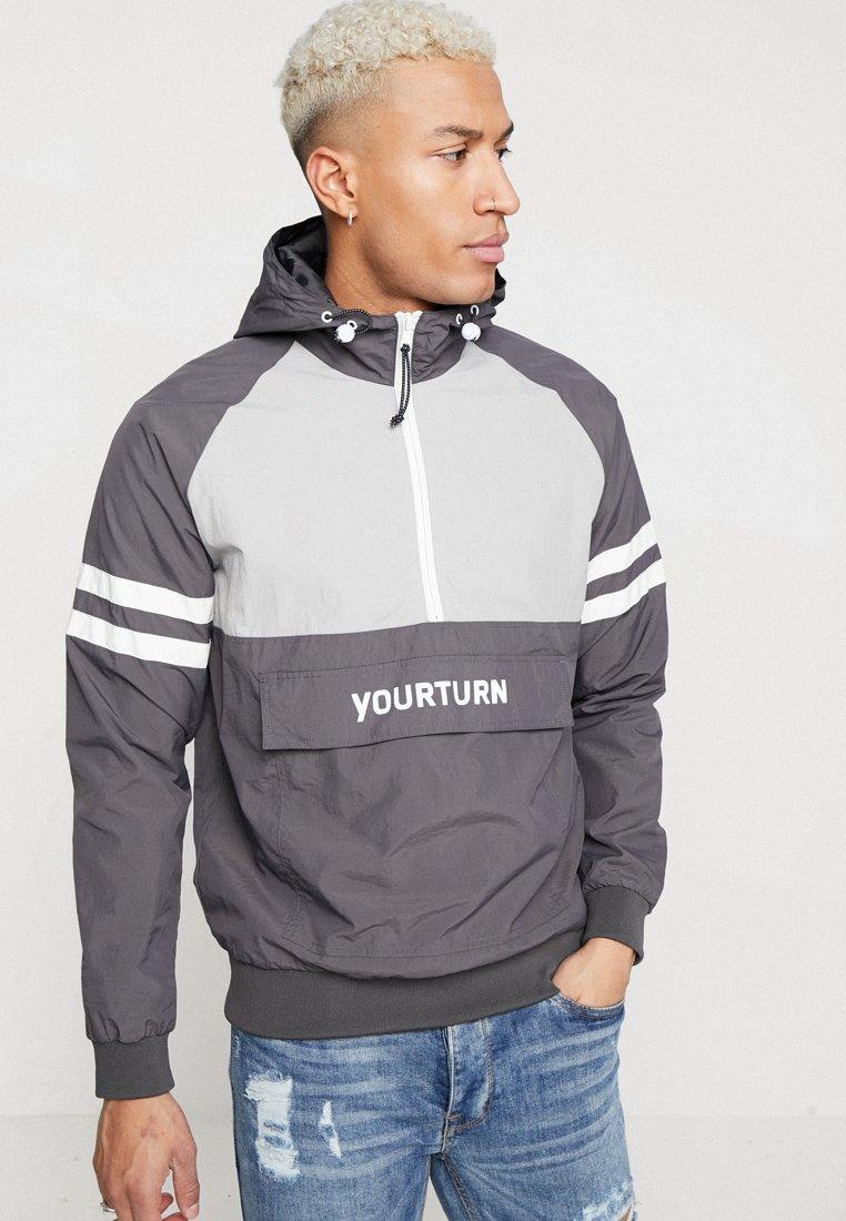 YOURTURN - Windbreaker - grey