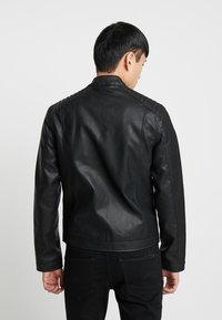YOURTURN - Giacca in similpelle - black - 2