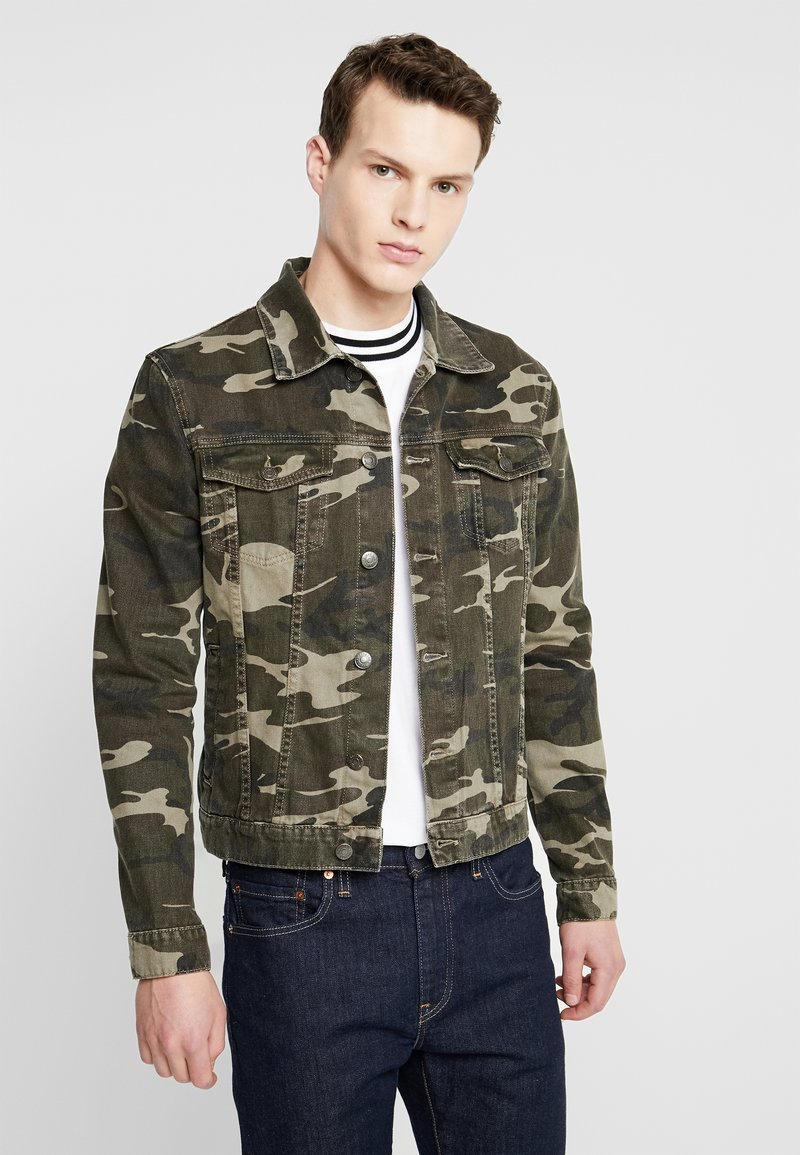 YOURTURN - Denim jacket - khaki