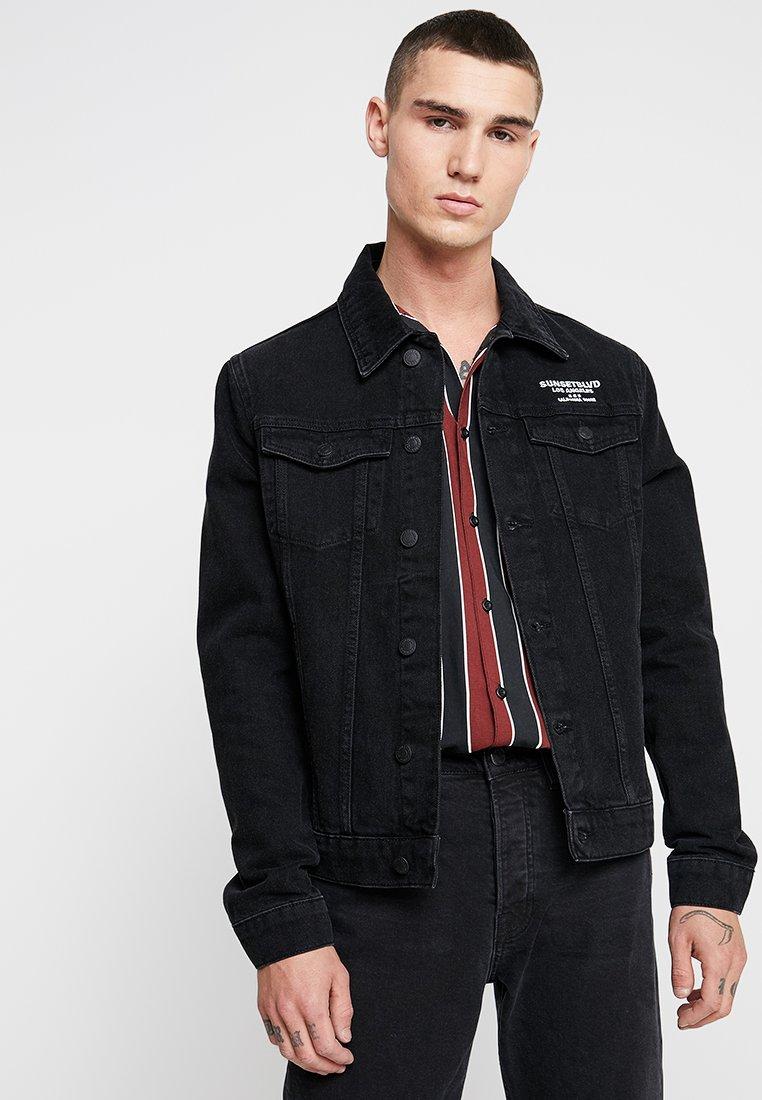 YOURTURN - Denim jacket - black denim