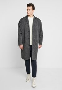 YOURTURN - Manteau classique - mottled grey - 1