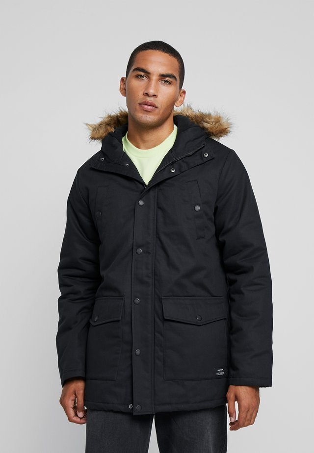 PATEL - Winter coat - black