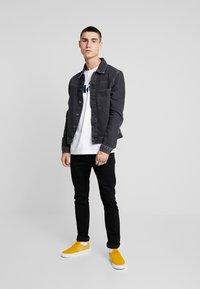YOURTURN - Giacca di jeans - black denim - 1