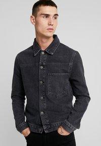 YOURTURN - Giacca di jeans - black denim - 4