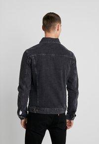 YOURTURN - Giacca di jeans - black denim - 2