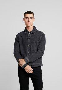 YOURTURN - Giacca di jeans - black denim - 0
