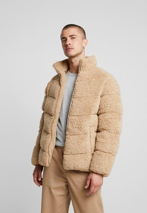 Winter jacket - camel
