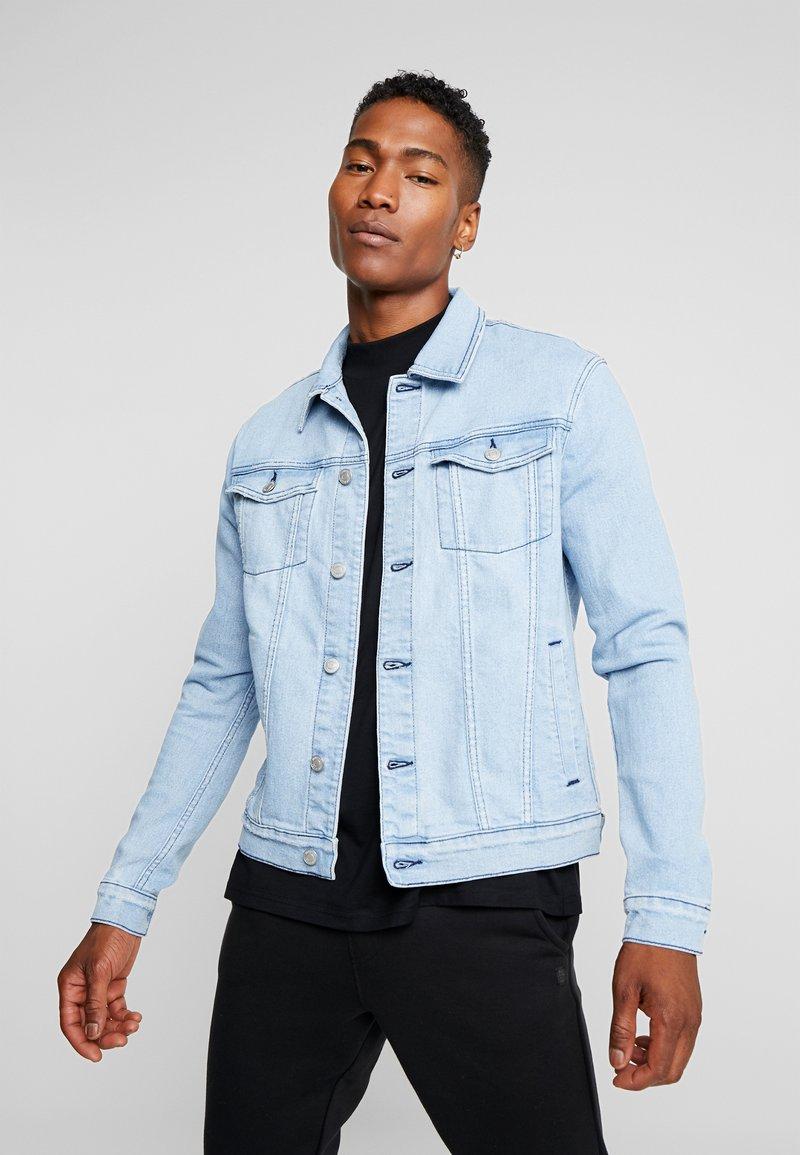 YOURTURN - Denim jacket - bleached denim