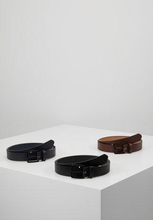 3 PACK - Riem - dark blue/black/brown