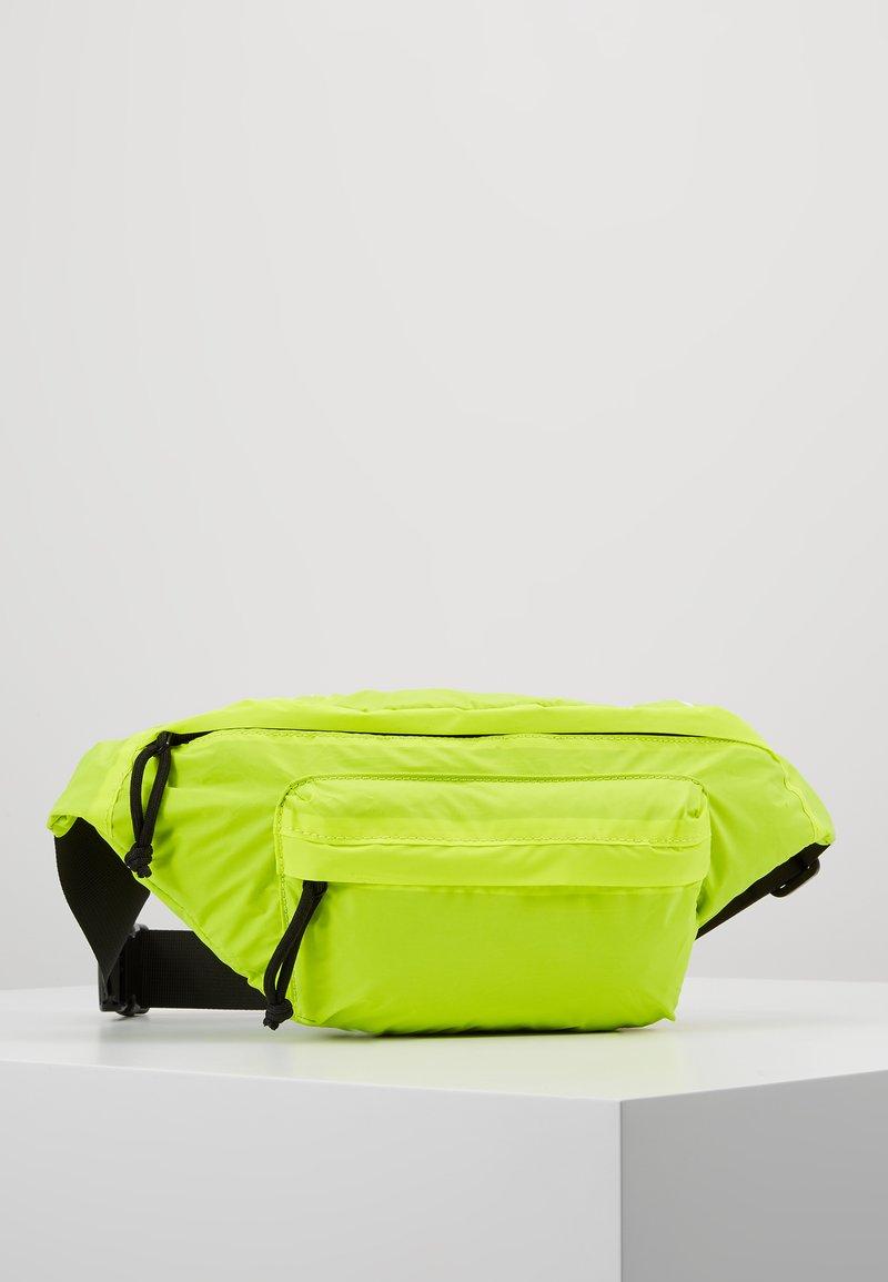 YOURTURN - Bum bag - white/yellow