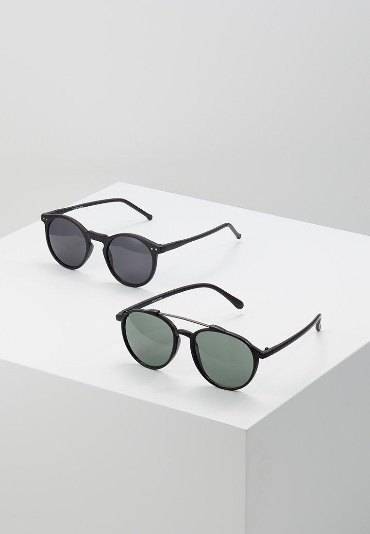 YOURTURN - 2 PACK - Sonnenbrille - black